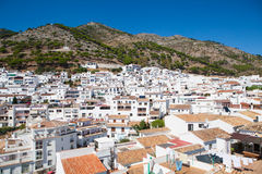 Mijas village in Andalusia, Spain. Stock Images