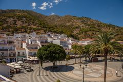 Mijas village. View of the village of Mijas on a sunny day. Costa del Sol, Andalusia, Spain. Picture taken 20 june 2019 royalty free stock image