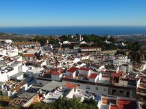 Mijas Village Royalty Free Stock Images