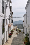 Mijas the white city in Malaga mouantain view Stock Image