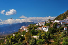 Mijas. White Village Of Spain Royalty Free Stock Images