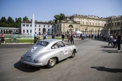 1000 mijlen, Royal Palace, Monza, Italië Stock Foto's