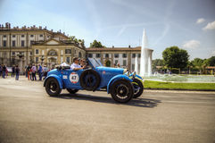 1000 mijlen, Royal Palace, Monza, Italië Stock Afbeeldingen