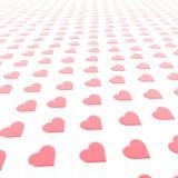 Mijn Achtergrond van de Valentijnskaart Royalty-vrije Stock Fotografie