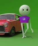 Mijn auto Royalty-vrije Stock Afbeelding