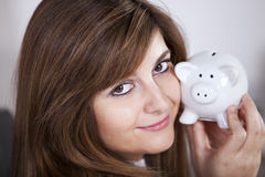 Mijn besparingen Stock Foto's