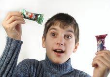 Mijn bonbons stock foto's