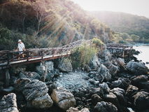 Mijn brug Stock Foto's