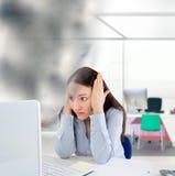Mijn computers tijd is omhoog Stock Foto's