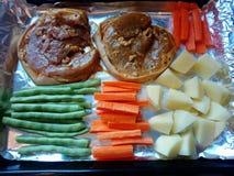 Mijn diner stock fotografie
