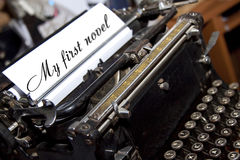 Mijn eerste roman Royalty-vrije Stock Foto's