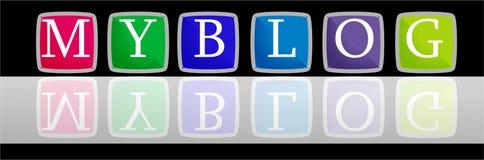 Mijn Embleem Blog Stock Fotografie