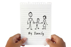 Mijn Familie Royalty-vrije Stock Fotografie