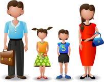 Mijn familie (pictogrammen) Royalty-vrije Stock Foto