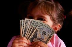 Mijn geld Stock Afbeelding
