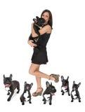 Mijn Gelukkige Hond royalty-vrije stock afbeeldingen