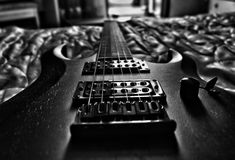 Mijn gitaar Royalty-vrije Stock Afbeeldingen