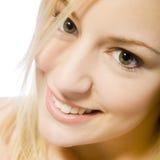 Mijn grote glimlach Stock Fotografie