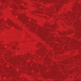 Mijn Grungy Valentijnskaart Stock Afbeelding