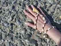 Mijn hand Stock Foto