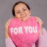 Mijn hart voor u Royalty-vrije Stock Foto