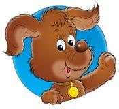 Mijn hond 002 royalty-vrije illustratie