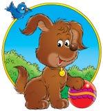 Mijn hond 006 stock illustratie