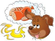 Mijn hond 013 stock illustratie