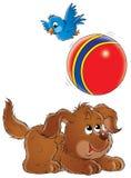 Mijn hond 022 royalty-vrije illustratie