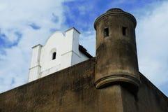Mijn huis is mijn kasteel Stock Foto