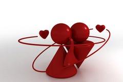 Mijn liefde stock illustratie