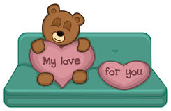 Mijn Liefde voor u Royalty-vrije Stock Afbeelding