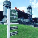Mijn Moai Royalty-vrije Stock Foto