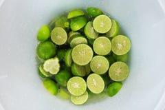 Mijn mooie groene citroen royalty-vrije stock foto