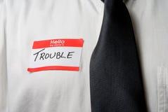 Mijn Naam is Probleem Stock Foto's