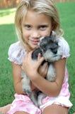 Mijn Nieuw Puppy stock foto's