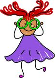 Mijn nieuwe bril vector illustratie