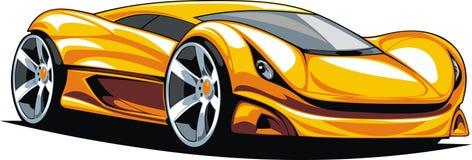 Mijn origineel sportwagenontwerp vector illustratie