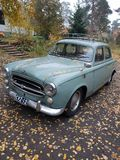 Mijn oude auto royalty-vrije stock foto's
