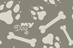 Mijn patroon van de Hond Stock Foto's