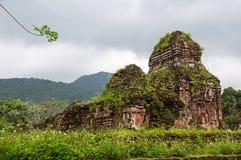 Mijn ruïnes van de Zoons Hindoese tempel, Stock Afbeelding