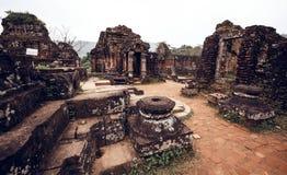 Mijn ruïnes van de Zoonstempel Royalty-vrije Stock Foto