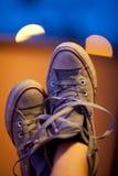 Mijn schoenen Stock Foto