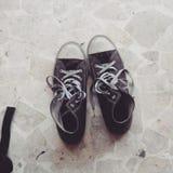 Mijn schoenen Royalty-vrije Stock Foto's