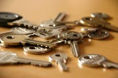 Mijn sleutels royalty-vrije stock foto's