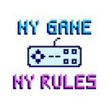 Mijn spel mijn regels Royalty-vrije Stock Fotografie