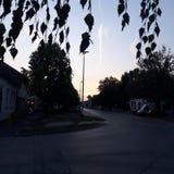 Mijn stad Stock Afbeeldingen