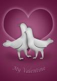 Mijn Valentijnskaart Stock Foto