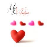 Mijn Valentijnskaart royalty-vrije stock fotografie