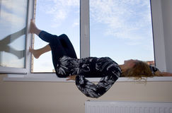 Mijn venster Stock Fotografie